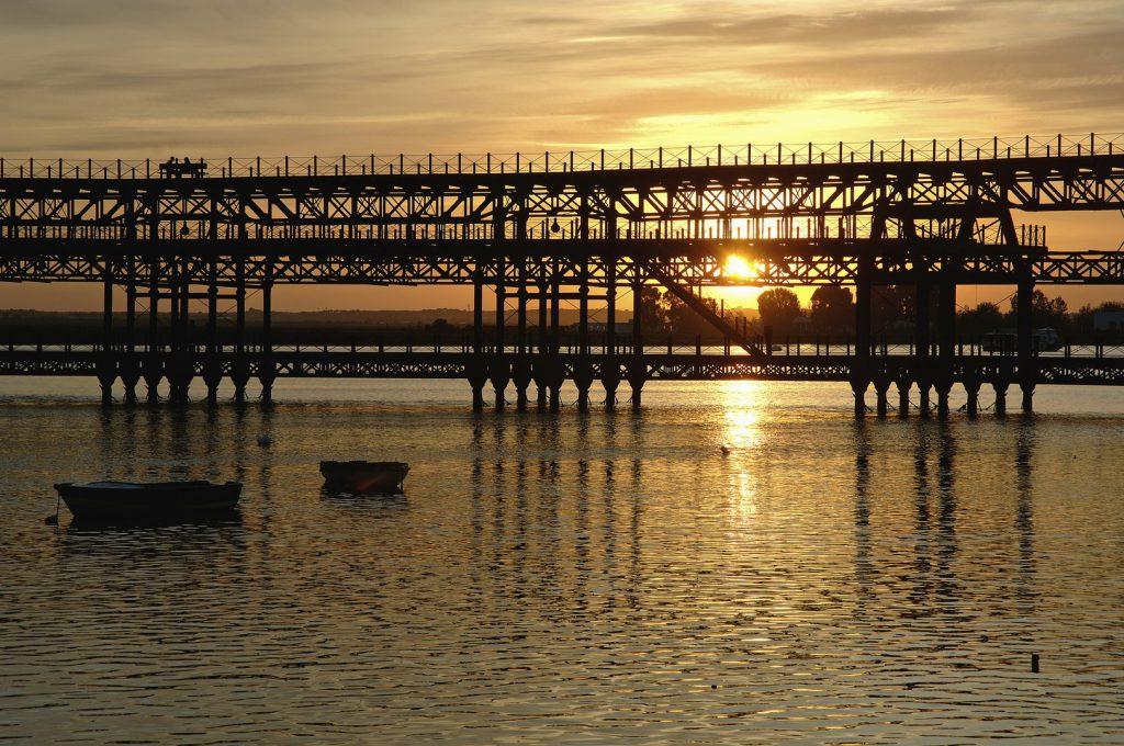 Muelle del Tinto. Huelva.