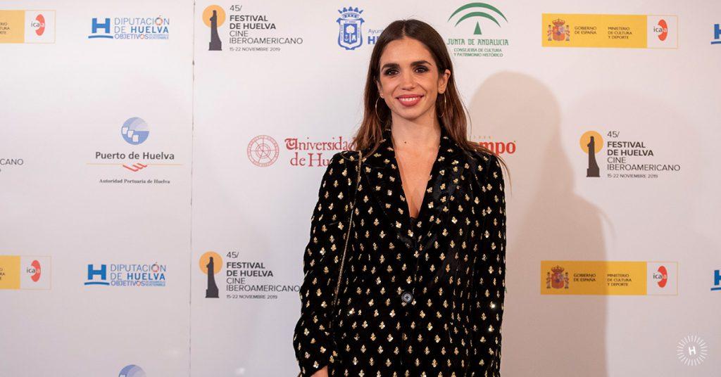 Elena Furiase en la presentación del Festival de Cine Iberoamericano de Huelva